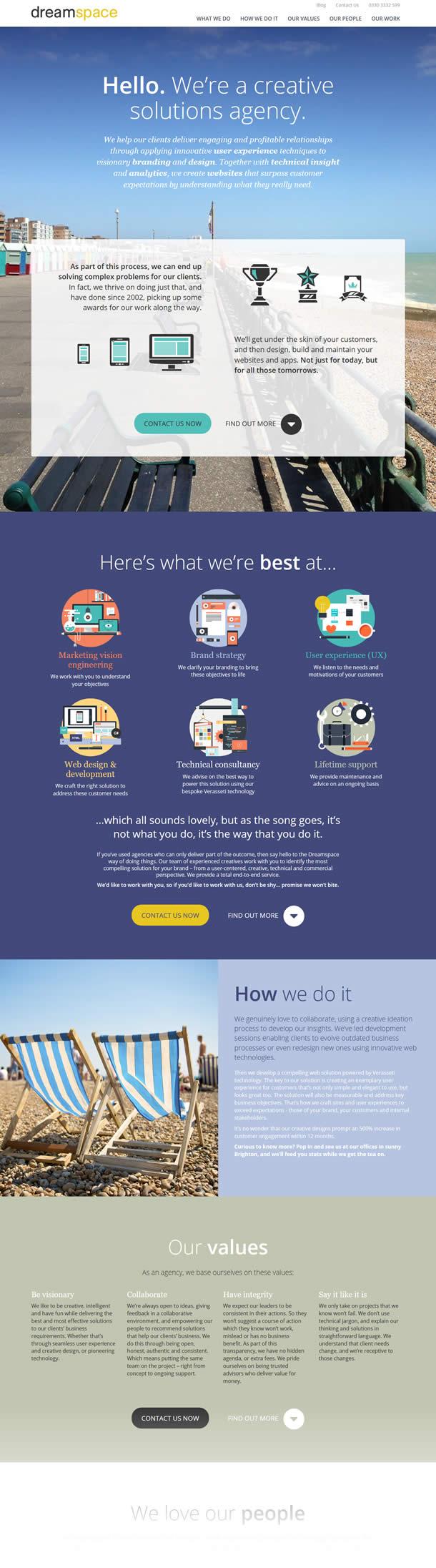 Dreamspace Homepage